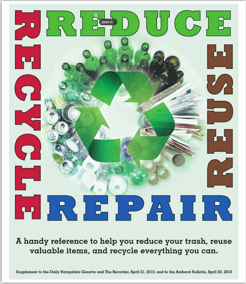 Reduce, Reuse, Recycle, Repair: The Gazette Guide